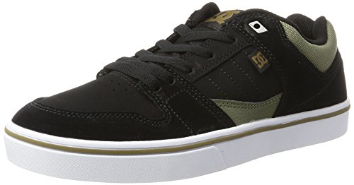 DC Shoes Herren Course 2 Sneaker, Schwarz (Schwarz Olive), 42EU (Schwarz-surf-boot)