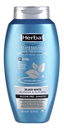 Herbal Professional Treatment Silver White Champú - 500 ml
