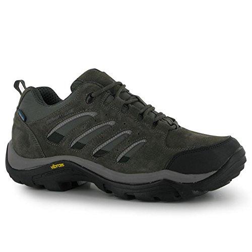 Karrimor Mens Aspen Low Walking Shoes Waterproof Casual Lace Up Suede Upper...