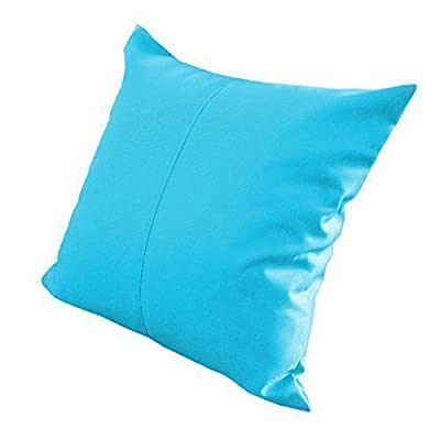 """Turquoise Water Resistant Outdoor Filled 18"""" Garden Furniture Cushion - cheap UK light shop."""
