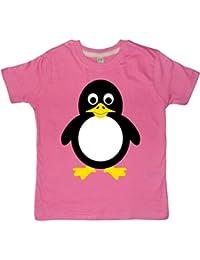 Diseño de pingüino Fun T-shirts para niños