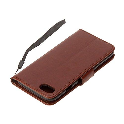 Cover iPhone 6 6s, Sportfun Custodia Portafoglio In Pelle Con Wallet Case Cover Per iPhone 6 6s con Porta Carte e Funzione Stand (08) 01