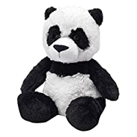 Cozy PlushTM CP-PAN-2 Panda, Black and White