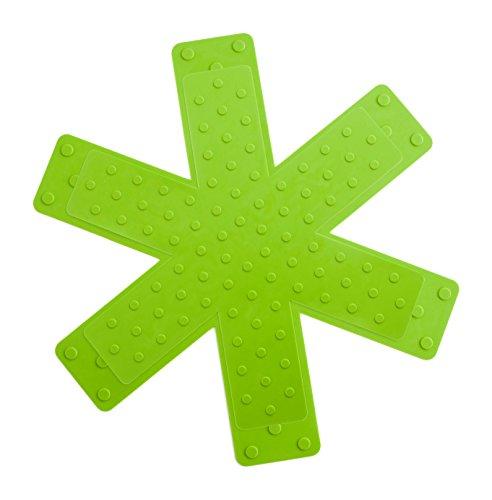 quid-iron-set-de-dos-protectores-de-sarten-28-y-26-cm-color-negro-y-verde