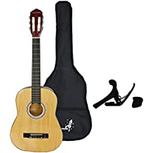 Rocket XF201CN XF serie Guitarra clásica española - tamaño 3/4, natural