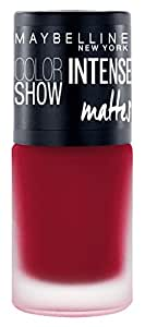 Maybelline New York Color Show Intense Nail Paint, Bold Burgundy, 6ml