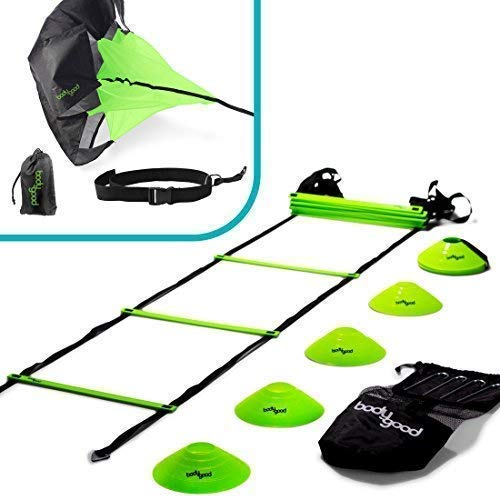 BodyGood Coordination Ladder Speed and Agility Training Set