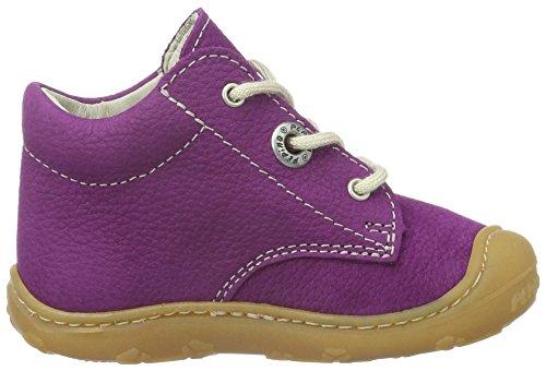 Ricosta Kinder Lauflernschuhe Stiefel für Mädchen in violett (pflaume) Violett (violett 346)