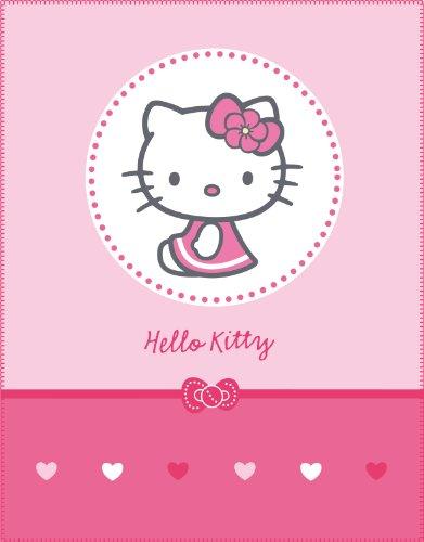Image of Hello Kitty 39416 Mathilda Fleece Blanket 110 x 140 cm