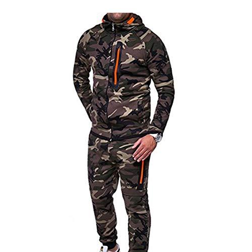 Tree-on-Life Mode Männer Anzüge Camouflage Kleidung Hoodie Jacke Tops Lange Hosen Lässige Outdoor Trainingsanzug Sportbekleidung -