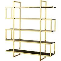 Comparador de precios Casa-Padrino Mueble de estantería de Lujo Oro 160 x 42 x H. 180 cm - Muebles de Hotel de diseño - precios baratos