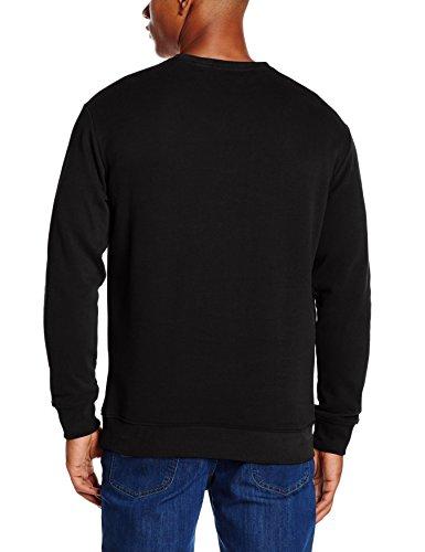Lee Herren Sweatshirt Logo Sws Schwarz (Black 01)
