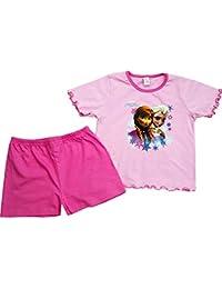 Disney - Pyjama court Reine des Neiges Elsa & Anna rose