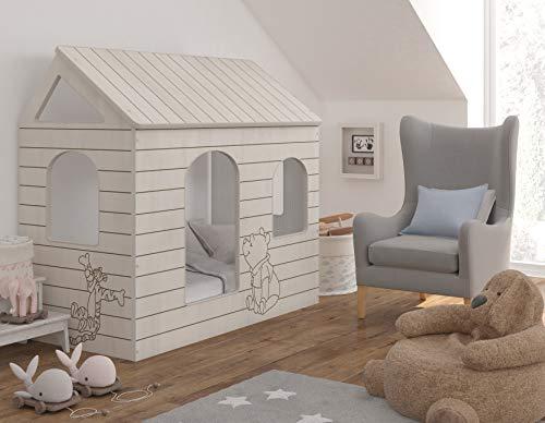 4myBaby GmbH Disney Original - Cama Infantil con o sin colchón (80 x 160 cm), diseño de Winnie The Pooh