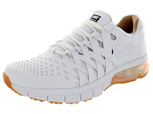 Nike Schuhe Fingertrap Max Premium Herren white-p shale-volt-gum medium brown (653987-107)