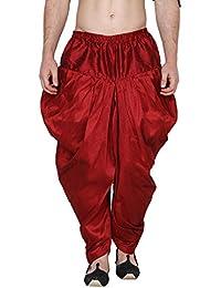 Royal Men's Silk Blend Alladin Baggy Pants