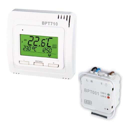 Thermostat Funkset UTQ Festanschluss Unterputz CZ