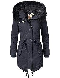 Khujo Damen Mantel Wintermantel Winterparka YM-Dorota 4 Farben + Camouflage  XS-XXL a3bba0c2f3