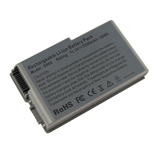 ACDoctor Laptop Battery for Dell Mobile Workstation M20, Dell Inspiron 500m 510m 600m, Latitude D500 D505 D510 D520 D600 D610, Precision M20, 5200mAh/11.1V/6-Cells