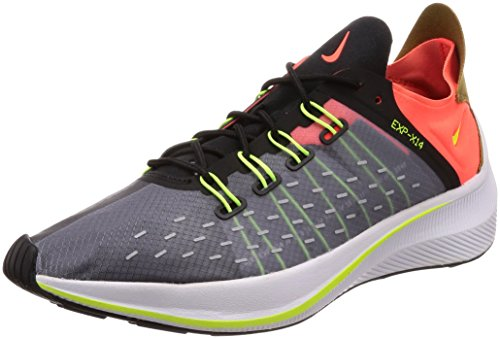 Nike Herren Exp-x14 Sneakers, Mehrfarbig (Black/Volt/Total Crimson/Dark Grey 001), 44.5 EU