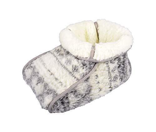 Buri Lammflor Fußwärmer Fußsack Wärme Pantoffel Sohlenwärmer Handwärmer Wärmekissen