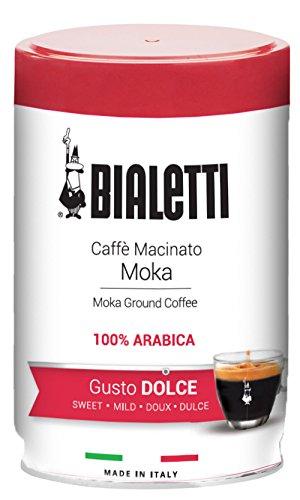 Bialetti 96080109 Ground Coffee Espresso Gusto Dolce