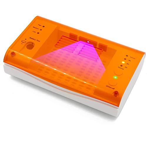 Hearing Aid Case Secador audífonos LED Limpieza UV