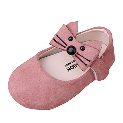 hen Leder Schuhe Cartoon Weiche Sohle Schuhe Neugeborenes Bequem Weich Babyschuhe Süß Mode Kleinkindschuhe Klettverschluss rutschfest Sommer Flache Schuhe ()