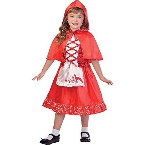 Kostüm Rotkäppchen Mädchen - Rotkäppchen Kostüm Kinder Mädchen Amscan