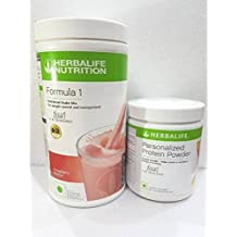 Herbalife Formula 1 Shake for Weight Loss, 500 g Strawberry and Protein Powder, 200 g