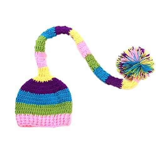 Imagen de v sol gorro disfraz ropa de bebé para fotografía 0 12meses a rayas multicolor 131