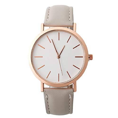 VJGOAL Damen Uhren, Frauen Mädchen Ultradünne Armbanduhr Elegant Einfach Watch Mode Trend Geburtstagsgeschenk (Tragen Baby-kostüm Oma)