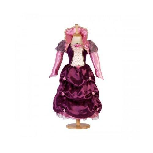 Mädchen Farbe Zwetschge Duchess Renaissance Prinzessin Kostüm - 9-11 Jahre
