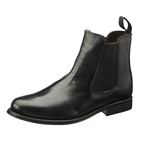 clifford-james-chelsea-boots-mens-real-leather-boots-9-black