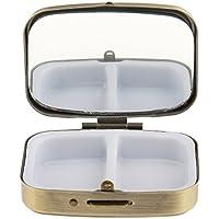 Sharplace Reisen Metall Pillenbox Klein Pillendose Tablettenbox Tablettendose Medikamentenbox Retro Design preisvergleich bei billige-tabletten.eu