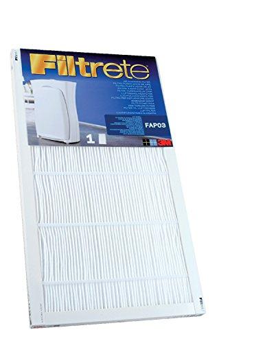 Filtrete(TM) Ersatzluftfilter für Luftreiniger Ultra Clean, groß, FAPF03 (Elektrostatische Luftfilter)