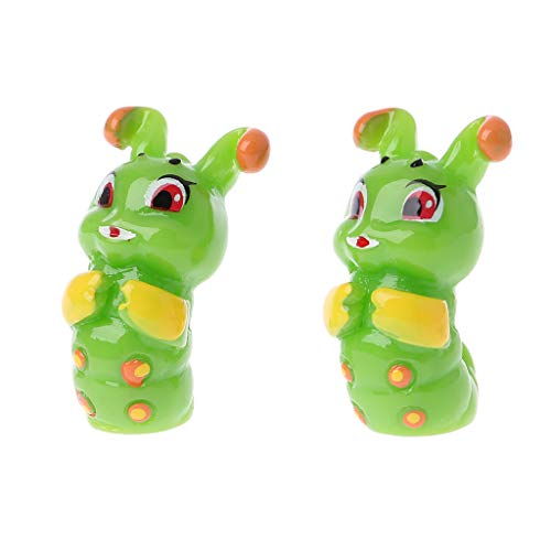 2PCS Dollhouse miniature game scene model accessories mini frog Jl