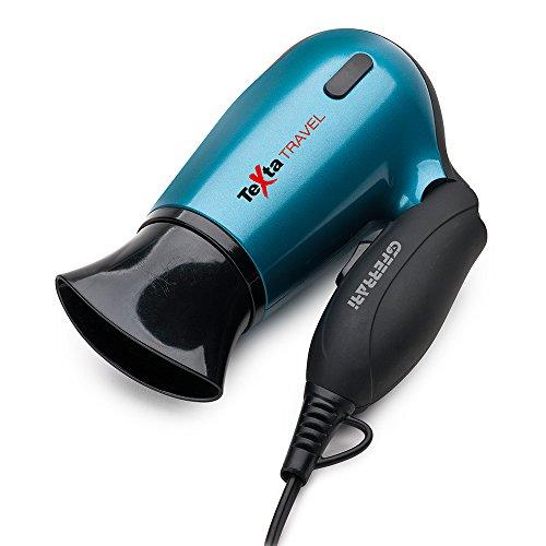 Ferrari Texta Travel 1400W Rojo - Secador de pelo (Rojo, Con agujero en la empuñadura para colgar, 1400 W, 115-230, 50-60, 200 mm)