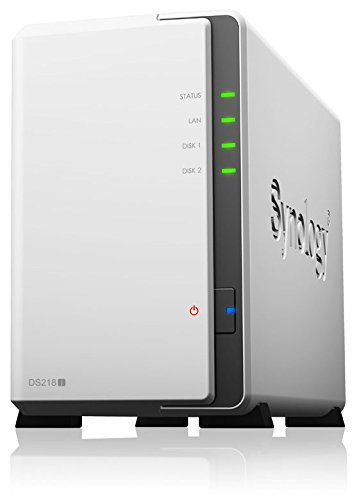 Synology DS218j 2-Bay 4TB Bundle mit 2x 2TB HDs