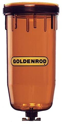 GOLDENROD (495-4) Fuel Tank Filter Replacement Bowl by Goldenrod - Fuel Bowl