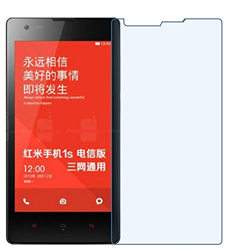 JAIFAON Premium Tempered Glass Film Screen Protector for Xiaomi Redmi 1S (Clear)