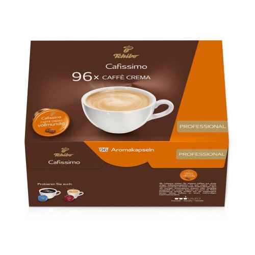 Preisvergleich Produktbild Tchibo Cafissimo Caffè Crema vollmundig,  96er Kaffee-Kapseln,  Großpackung