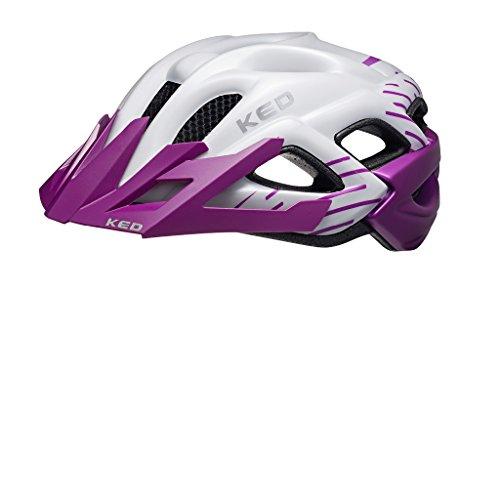 KED Status Helmet Junior Violett Pearl Matt Kopfumfang M | 52-59cm 2018 mountainbike helm downhill