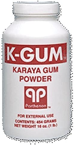 Parthenon K-Gum Karaya Gum Powder 3Oz Puff Bottle (1 Each) by Parthenon Corp