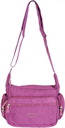 Aspen, borsa organizer con cerniere leggera e da viaggio in diversi colori CN9197 Rosa Cipria