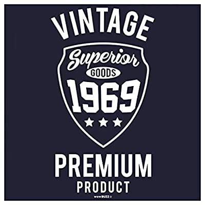 Regalo Uomo 50 Anni Compleanno Vintage Premium 1968 Maglietta T Shirt