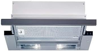 Bosch DHI 635 HX Hotte Téléscopique 60 cm 400 m³/h Argent métallisé