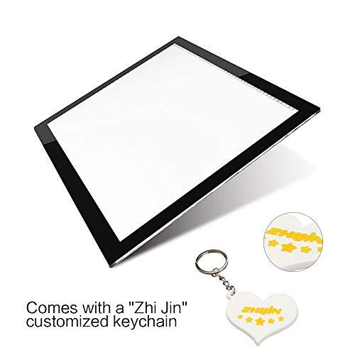 Na Licht-kit (Lichtbox A5 Ultra Bright USB Künstler Zeichnung Tattoo Tablet)