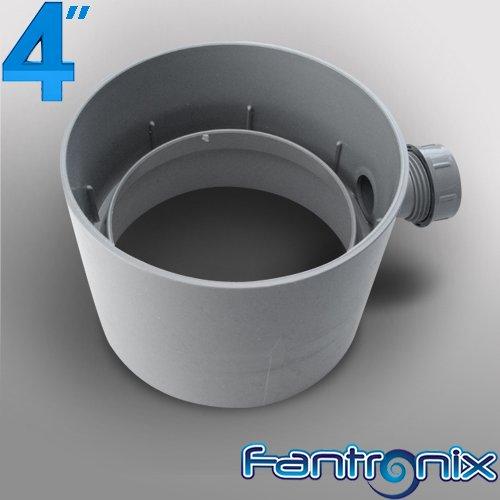 4 Quot 100mm Plastic Round Kitchen Ducting Ventilation Duct