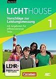 English G LIGHTHOUSE. Allgemeine Ausgabe. Band 1, 5. Schuljahr. Vorschläge zur Leistungsmessung. CD extra.